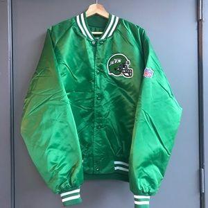 timeless design 97c39 f360b Vintage Jackets   Coats - New York Jets Chalkline Bomber Jacket